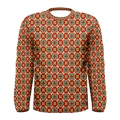 Cute Pretty Elegant Pattern Men s Long Sleeve T-shirts