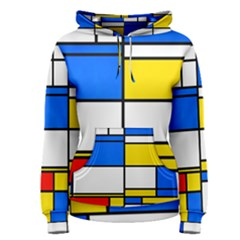 Colorful rectangles Pullover Hoodie