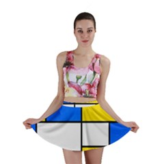 Colorful rectangles Mini Skirt