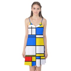 Colorful rectangles Camis Nightgown