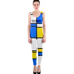 Colorful rectangles OnePiece Catsuit
