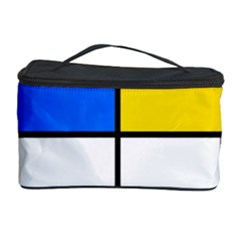 Colorful rectangles Cosmetic Storage Case