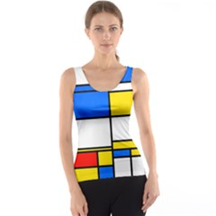 Colorful rectangles Tank Top