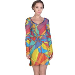 Colorful miscellaneous shapes nightdress