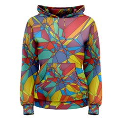 Colorful Miscellaneous Shapes Pullover Hoodie