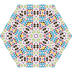 Colorful dots pattern Umbrella