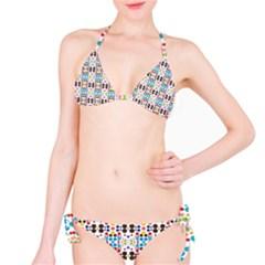 Colorful dots pattern Bikini set