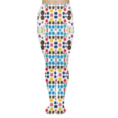 Colorful dots pattern Tights