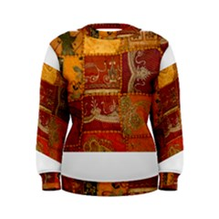 India Print Realism Fabric Art Women s Sweatshirts