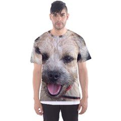 Border Terrier Men s Sport Mesh Tees