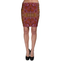 Crazy Beautiful Abstract  Bodycon Skirts