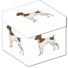 German Shorthair Pointer Silo Color Storage Stool 12
