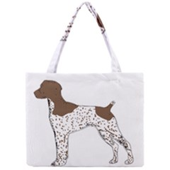 German Shorthair Pointer Silo Color Tiny Tote Bags