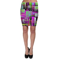 Crazy Abstract  Bodycon Skirts