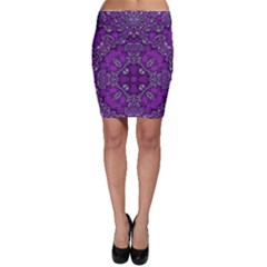 Crazy Beautiful Abstract  Bodycon Skirt