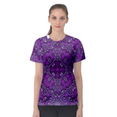 Crazy Beautiful Abstract  Women s Sport Mesh Tees
