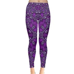 Crazy Beautiful Abstract  Winter Leggings