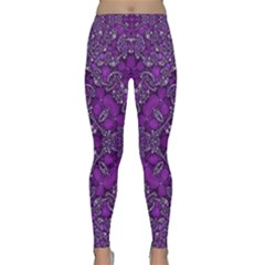 Crazy Beautiful Abstract  Yoga Leggings
