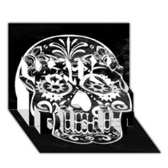 Skull You Did It 3d Greeting Card (7x5)