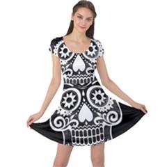 Skull Cap Sleeve Dresses