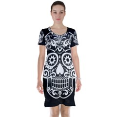 Skull Short Sleeve Nightdresses