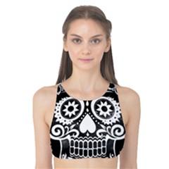 Skull Tank Bikini Top