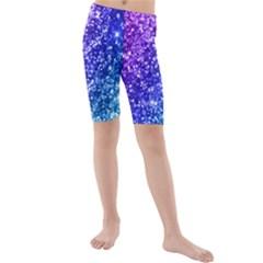 Glitter Ocean Bokeh Kid s swimwear