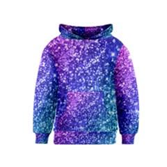 Glitter Ocean Bokeh Kid s Pullover Hoodies