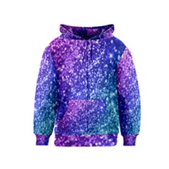Glitter Ocean Bokeh Kids Zipper Hoodies