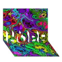 Powerfractal 4 Hope 3d Greeting Card (7x5)