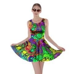 Powerfractal 4 Skater Dresses