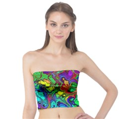 Powerfractal 4 Women s Tube Tops