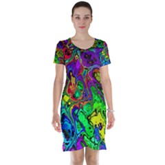 Powerfractal 4 Short Sleeve Nightdresses