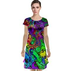 Powerfractal 4 Cap Sleeve Nightdresses