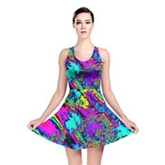 Powerfractal 2 Reversible Skater Dresses