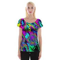 Powerfractal 2 Women s Cap Sleeve Top