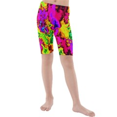 Powerfractal 01 Kid s swimwear