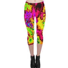 Powerfractal 01 Capri Leggings