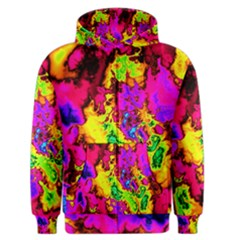 Powerfractal 01 Men s Zipper Hoodies
