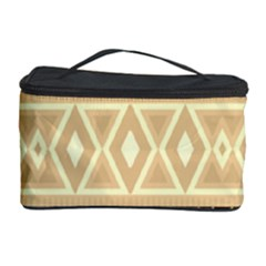 Fancy Tribal Border Pattern Beige Cosmetic Storage Cases