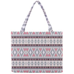 Fancy Tribal Border Pattern Soft Tiny Tote Bags
