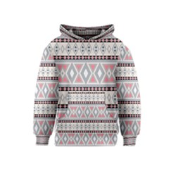 Fancy Tribal Border Pattern Soft Kid s Pullover Hoodies