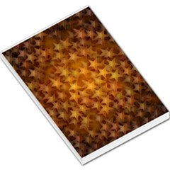 Gold Stars Large Memo Pads