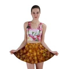 Gold Stars Mini Skirts