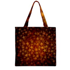 Gold Stars Grocery Tote Bags