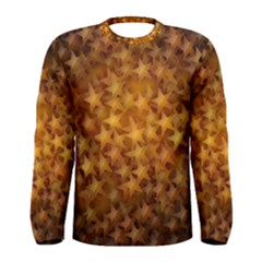 Gold Stars Men s Long Sleeve T-shirts