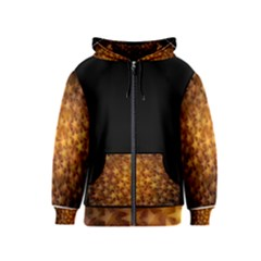 Gold Stars Kids Zipper Hoodies