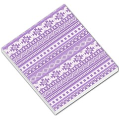 Fancy Tribal Borders Lilac Small Memo Pads