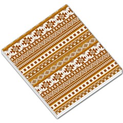 Fancy Tribal Borders Golden Small Memo Pads
