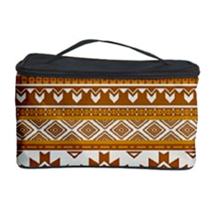 Fancy Tribal Borders Golden Cosmetic Storage Cases